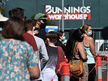 Covid-19 Australia: Hundreds of Queenslanders gather for a Bunnings sausage amid jab rollout