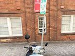 Motorcyclist is fined $268 for leaving her bike in a VERY confusing no-stopping zone
