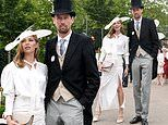 Abbey Clancy and husband Peter Crouch in FIRST appearance since welcoming baby number four at Ascot