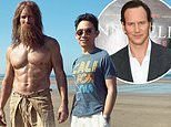 Patrick Wilson does his best 'Cast Away impression' as he stands next to director James Wan