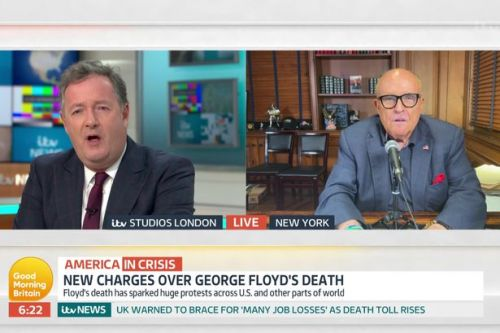 Piers Morgan slams Donald Trump's 'unhinged' lawyer in blistering row on GMB