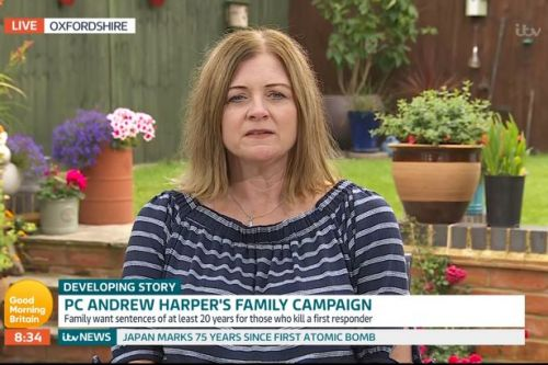 PC Andrew Harper's mother speaks of horror as killers laughed and joked in court