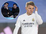 Arsenal begin talks with Real Madrid over loan deal for midfielder Martin Odegaard