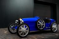 Reborn Bugatti Baby is 75% scale classic with 42mph top speed