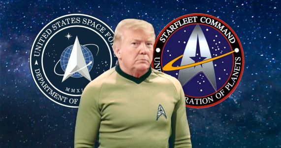 The logo for Donald Trump's new US Space Force looks very familiar