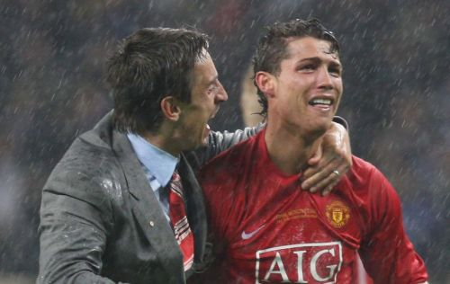 Gary Neville reveals the 'big problem' that caused Cristiano Ronaldo to leave Manchester United