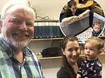 MIT professor sets up a CRIB in his biology lab to help a graduate student with a new baby