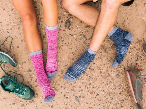 Bombas' hiking socks are engineered for the outdoor adventurer, but they're comfortable enough to wear every day