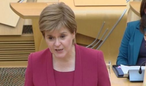 'This is crippling business' Ross blasts Nicola Sturgeon over 'hurtful' Covid restrictions