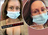 Chanelle Hayes shares selfies as she asks for advice on 'panic attacks in public places'