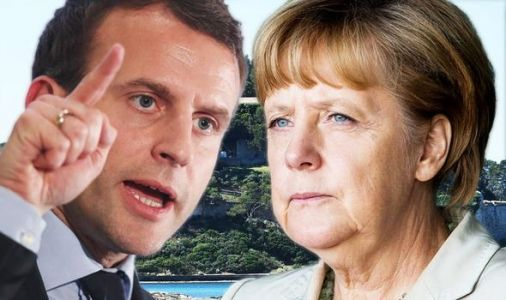 EU showdown: Merkel and Macron square off in battle for Brussels - with Brexit major issue