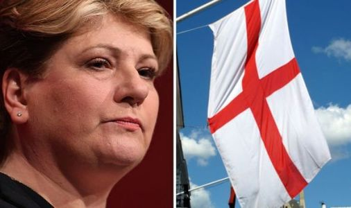 Emily Thornberry's sneering take on St George's flag unveiled before England v Scotland