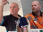 Raymond van Barneveld beats Phil Taylor in stay-at-home darts fundraiser match for COVID-19 charity