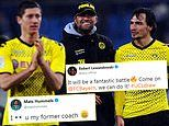 Bayern Munich stars Lewandowski and Hummels send messages to Jurgen Klopp after Liverpool draw