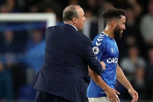 Andros Townsend pays tribute to Rafa Benitez as he prolongs Everton purple patch