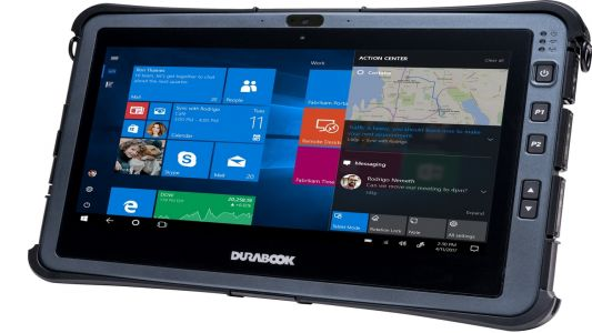 Durabook unveils first rugged tablet with Intel processor