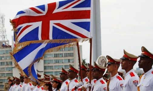 Royal visit to Cuba is in contrast to US isolation policy