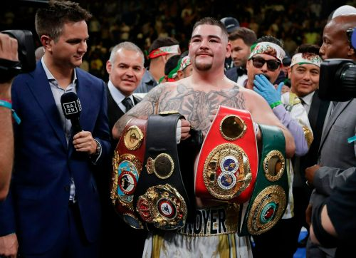 Andy Ruiz Jr agrees to fight Anthony Joshua in Saudi Arabia after improved fight purse offer