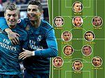Germany's Toni Kroos picks dream team of players he's starred with at Real Madrid and Bayern Munich