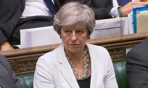 May's Brexit stormer! Theresa on fire attacking MPs for 'biggest con-trick on Britain!'