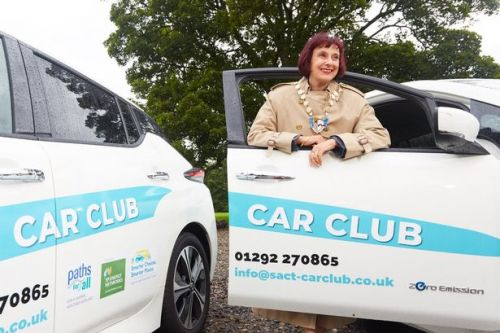 Electric car club is the greener way to get about