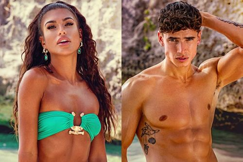 """Exclusive - Too Hot To Handle's Cam and Emily say they have """"nothing to feel bad about"""" after costing the group so much money"""