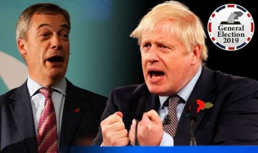 Election poll RESULT: Landslide victory for Tories in constituencies WITHOUT Brexit Party