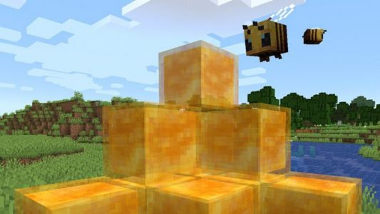 You can now do parkour in Minecraft with honey