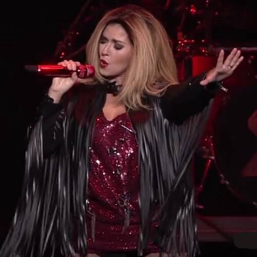 Shania Twain duetted with her horse for the 'ACM Presents: Our Country' TV special