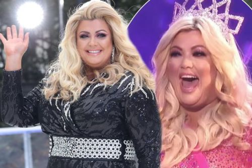 Gemma Collins transforms into a festive fairy as she returns to Dancing On Ice for Christmas special