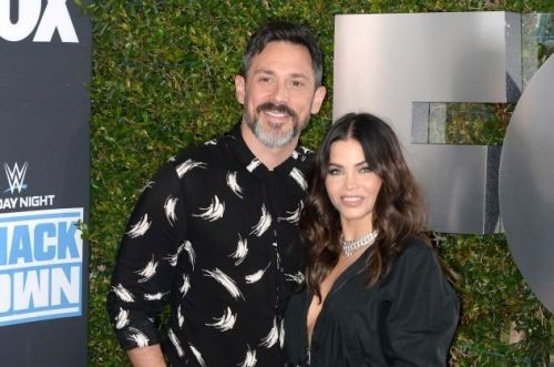 Jenna Dewan puts wedding plans on hold and says fiance Steve Kazee is a 'natural' with newborn son