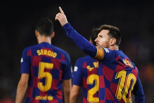 Lionel Messi breaks Cristiano Ronaldo record in Barcelona win against Mallorca