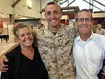 Father reveals US marine son who criticised withdrawal from Afghanistan is in military prison