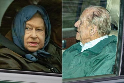 Queen and Prince Philip pictured for first time since grandson Harry went to Canada