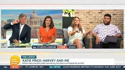 Katie Price's son Harvey tells Richard Madeley 'you look beautiful' in sweet moment on Good Morning Britain