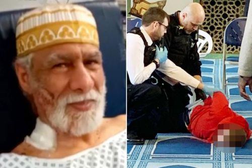 Homeless man, 29, 'had been going to mosque for years before stabbing prayer leader'