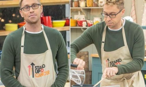 Celebrity Bake Off: Russell Howard 'cried in toilet' after on-set disaster
