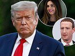 Hope Hicks and Mark Zuckerberg 'scold Trump over his fiery tweets about riots'