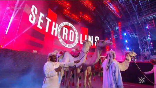 WWE has actual camels in the arena for Crown Jewel and fans aren't sure what to think