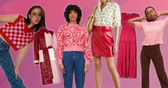 Red and pink is the colour pairing to be seen in right now - here's what to buy