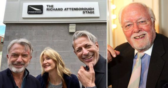 Jurassic Park stars Laura Dern and Sam Neill share poignant tribute to Richard Attenborough