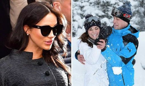 Kate MISSED Meghan Markle's baby shower for skiing trip with William, George and Charlotte