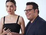 Daisy Ridley gets bombarded with Star Wars questions by Josh Gad