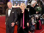 Charles and Camilla step out in style for hotly anticipated World War One epic 1917