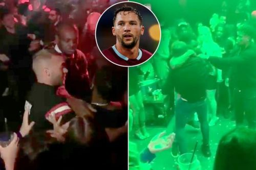 New video shows Chelsea flop Danny Drinkwater aiming headbutt in nightclub brawl