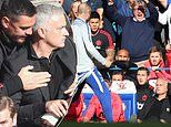 Chelsea's wild celebrations at 96th-minute goal rile Mourinho