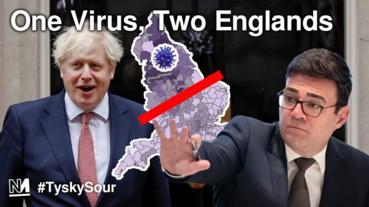 One Virus, Two Englands