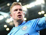 Manchester City 2-0 West Ham: Rodri and Kevin De Bruyne strike in victory