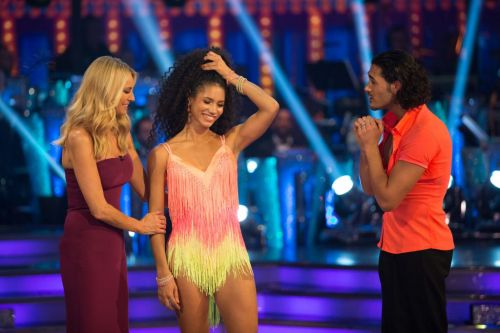 Vick Hope departs Strictly Come Dancing after losing out to Seann Walsh in the dance-off