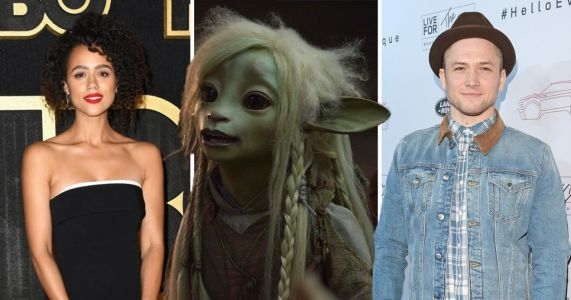Game of Thrones' star Nathalie Emmanuel and Taron Egerton lead most epic cast ever in Netflix's The Dark Crystal remake